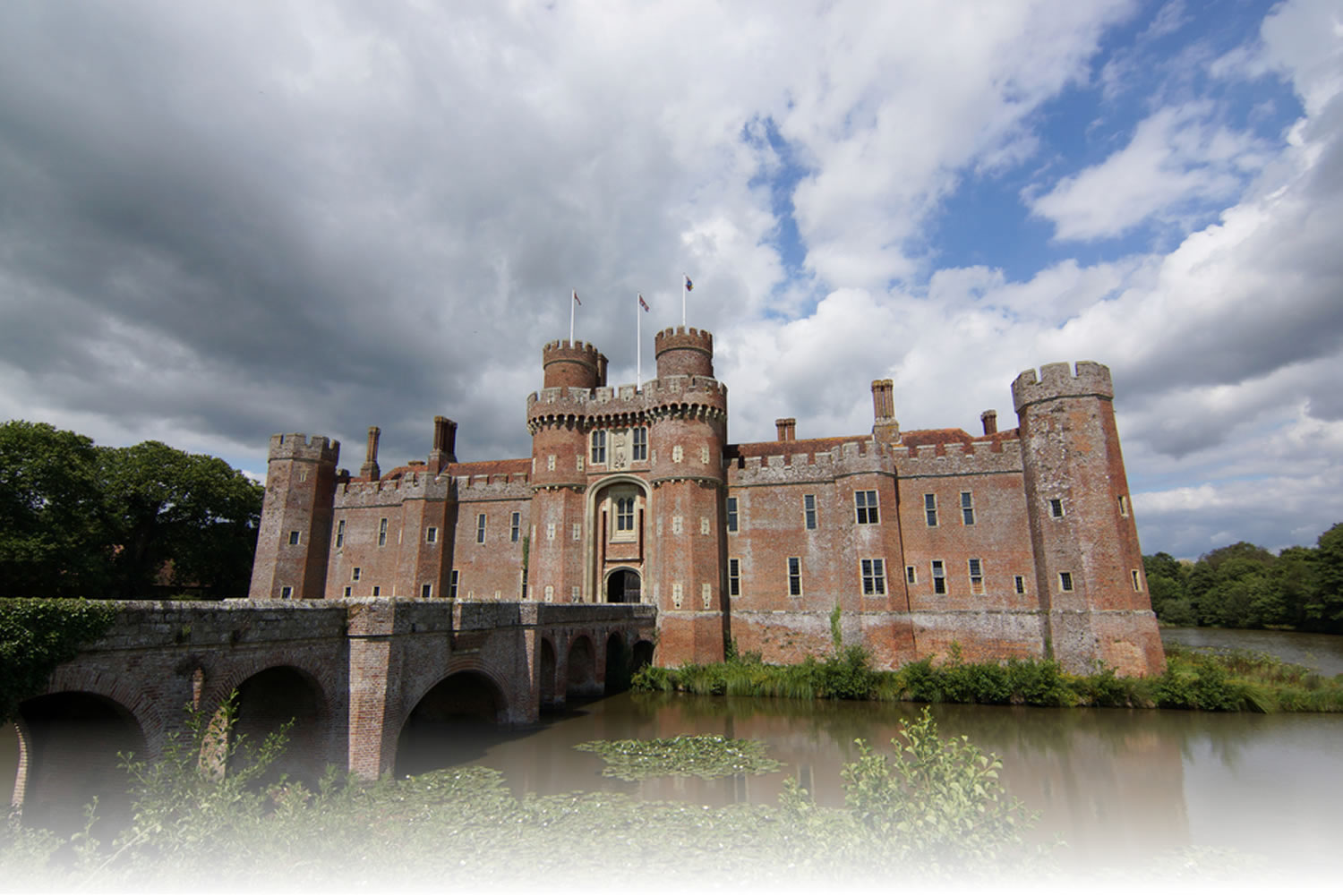 herstmonceux castle hailsham east sussex england uk